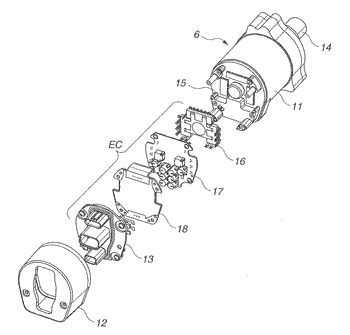 Electric drive apparatus, and electric power steering apparatus