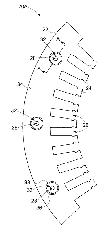 Stators for electrical machines