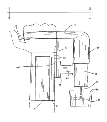 Propulsion system for use by a swimmer