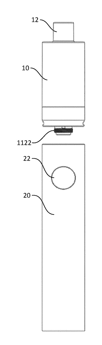 Connector having multiple threads and electronic cigarettes having the connector