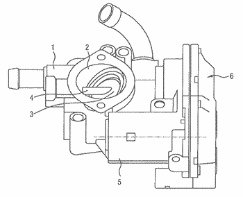 Valve device in a motor vehicle