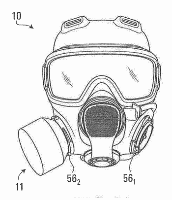 Filter for respirator mask or other filtering applications