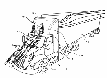 Drag reducing aerodynamic vehicle components and methods of making the same
