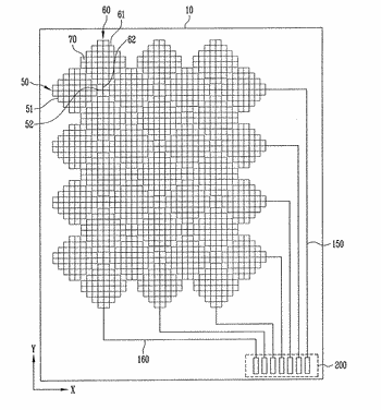 Flexible touch screen panel and flexible display device with the same