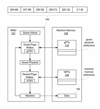 Increasing granularity of dirty bit information in hardware assisted memory management systems