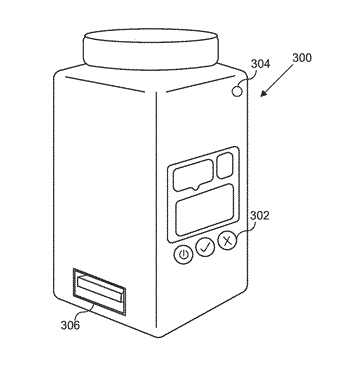 Smart medication container