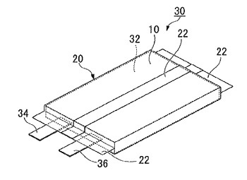 Layered body, bag and lithium ion cell