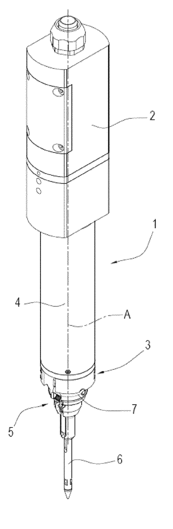 Device and method for measuring a valve seat formed in a piece