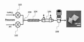 Sensor devices comprising a metal-organic framework material and methods of making and using the same