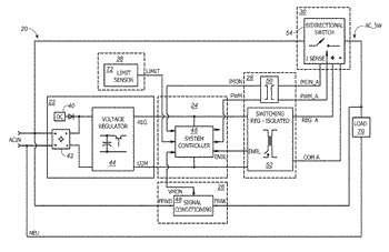 Digitally controlled ac protection and attenuation circuit