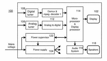 Method of and apparatus adapted for controlling a power consumption of a media stream reproducing ...