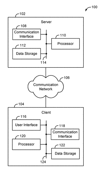 Computing device and corresponding method for generating data representing text