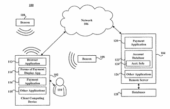 Systems and methods for wirelessly determining accepted forms of payment