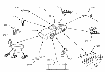 Methods and systems for automatically sending rule-based communications from a vehicle