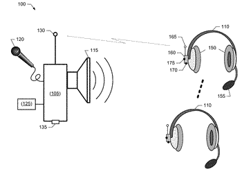 Selective suppression of audio emitted from an audio source