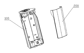 Battery device and electronic cigarette having the same