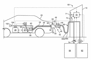 Rapid charging electric vehicle and method and apparatus for rapid charging