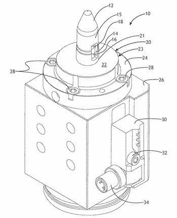Adjustable pin clamping device