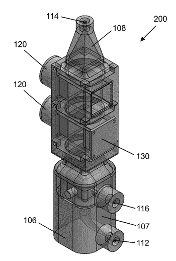 System for generating high concentration factors for low cell density suspensions