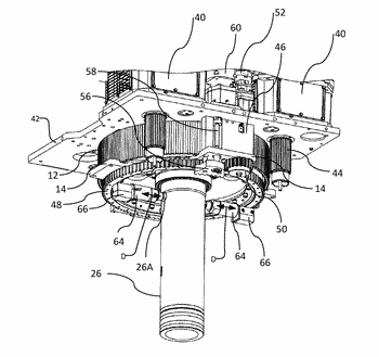 Integrated casing drive