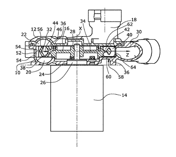 Side-channel blower for an internal combustion engine, comprising a wide interrupting gap