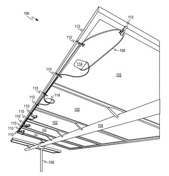 Wire clip for photovoltaic modules