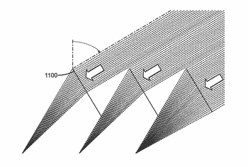 Asymmetric tracking-integrated optics for solar concentration