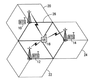 Initial access channel for scalable wireless mobile communication networks