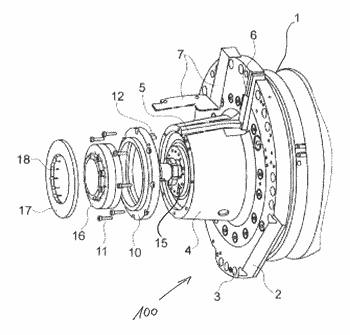 Spindle device for a program-controlled machine tool