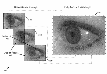 Iris recognition via plenoptic imaging