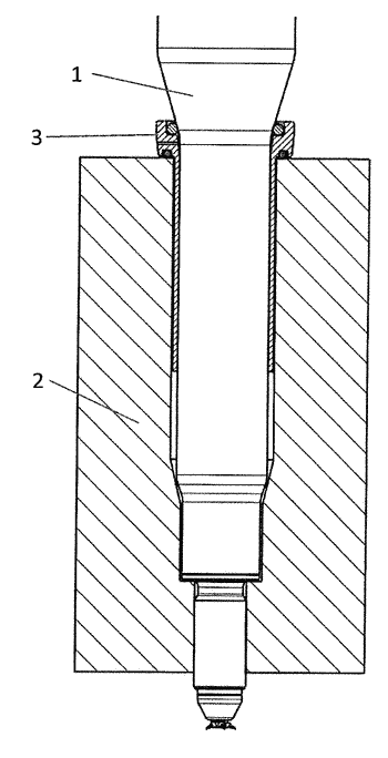 Protective sleeve for a corona ignitor in a spark plug shaft of an engine