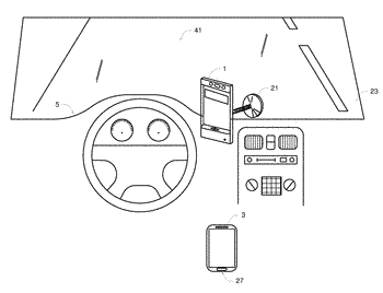 Phone docking station for enhanced driving safety