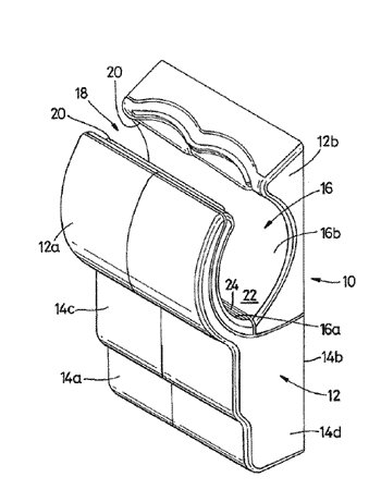 Drying apparatus comprising a hydrophobic material