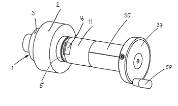 Clamping device for tools