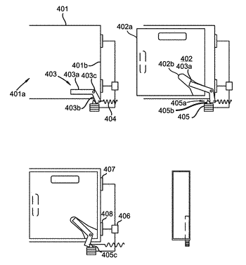 Exchangeable electric vehicle battery receptacle, kiosk, and infrastructure