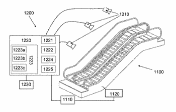 Monitoring system of a passenger conveyor, a passenger conveyor, and a monitoring method thereof