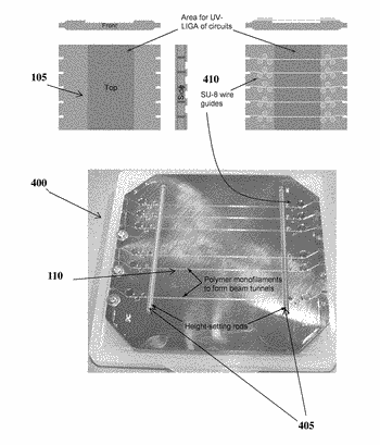 Microfabrication of tunnels