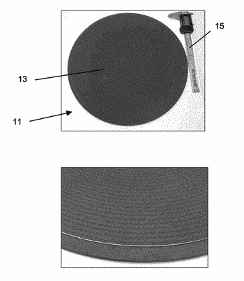 Methods for masking a pin chuck, and articles made thereby