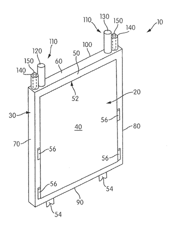 Immersible gaseous oxidant cathode for electrochemical cell system