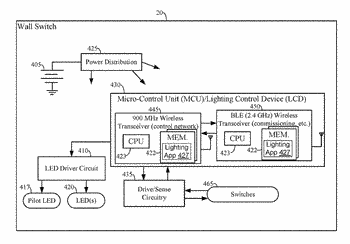 Protocol for lighting control via a wireless network