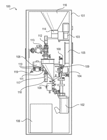 Apparatus and method for producing beverages from dry ingredients
