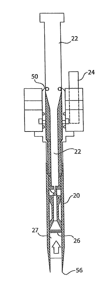 Dosator apparatus for filling a capsule with dry powder