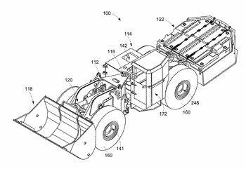 Integrated motor and axle apparatus and method