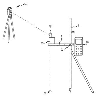 Adjustable high precision surveying device