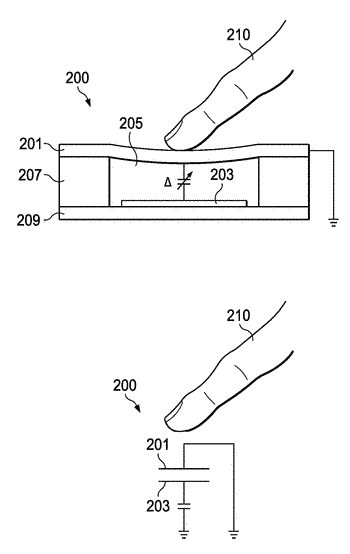 Methods and apparatus for metal touch sensor