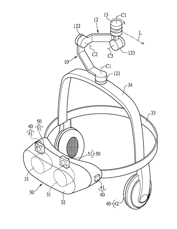 Threat warning system adapted to a virtual reality display system and method thereof
