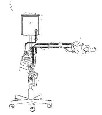 Adaptor for respiratory assistance systems