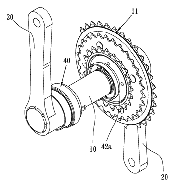 Transmission device for bodybuilding device or bicycle