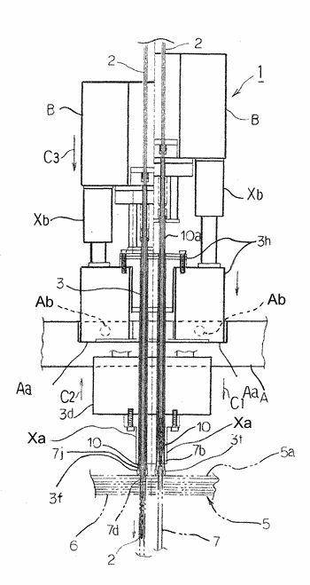 Manufacturing device for heat exchanger