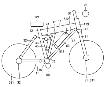 Electrically operated bicycle